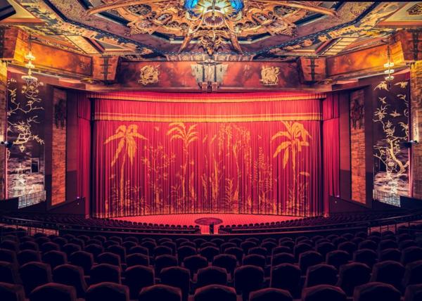 filmtheater weltweit modern kunst muster deko