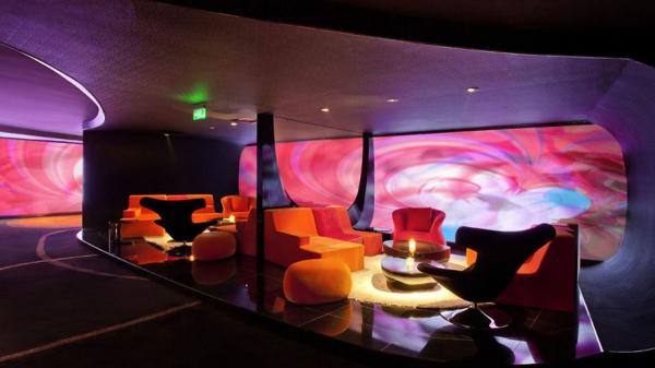 filmtheater weltweit modern kunst sofas orange