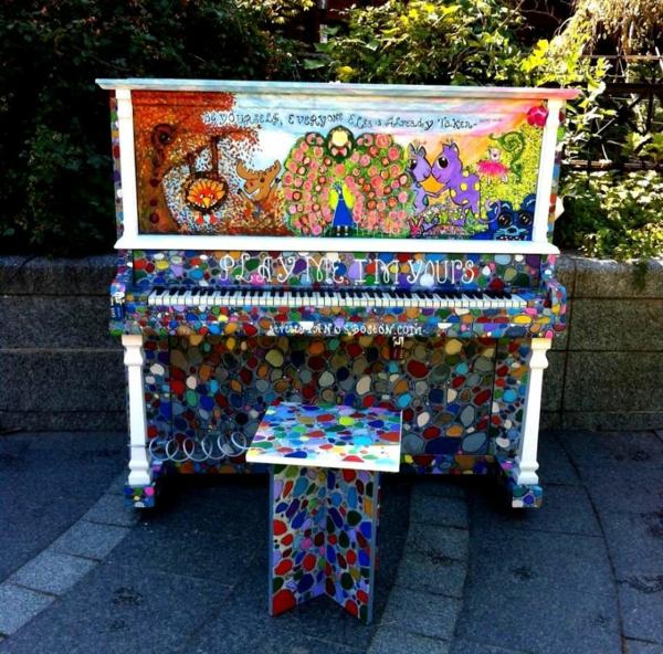 50 gebrauchte klaviere kunstvolle fl gel ffentlich spielen lernen - Klavier fliesen ...