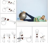 Gymnastikball Übungen – Abnehmen geht damit deutlich leichter