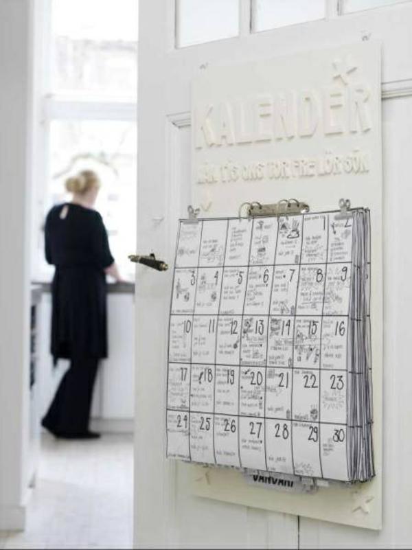 kreativitätstechniken bastelideen diy ideen wandkalender