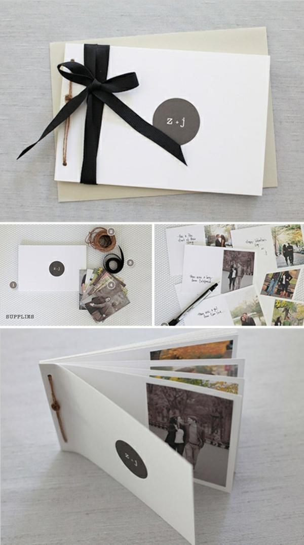 kreativitätstechniken kreative bastelideen diy ideen fotoalbum gestalten