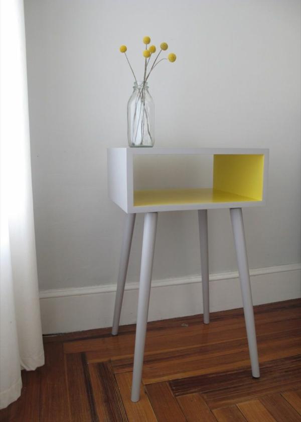 lackfarben stauraum holz acryllack möbel beistelltisch