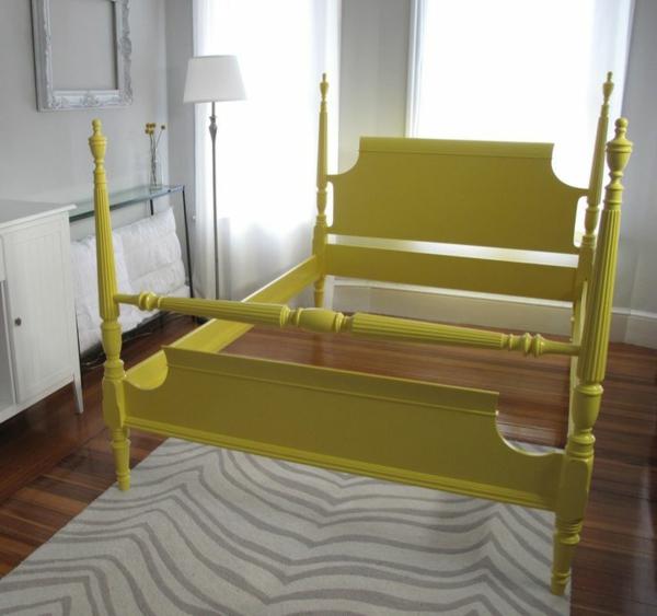 lackfarben holz acryllack möbel bettgestell pfosten