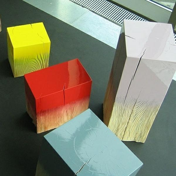 lackfarben holz acryllack möbel hocker