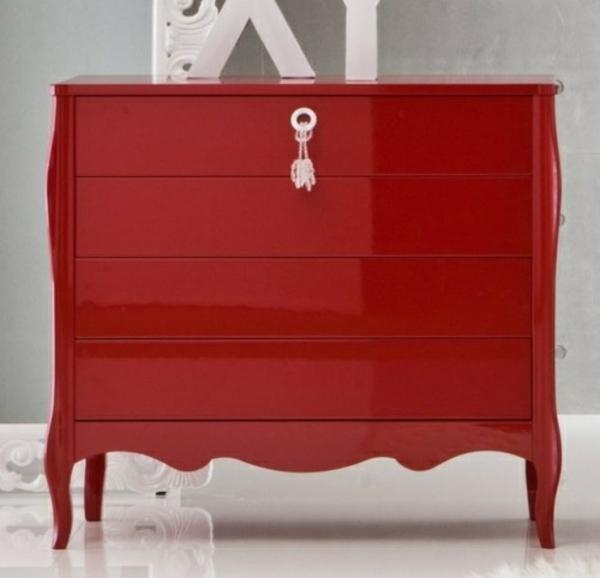 lackfarben für holz acryllack möbel kommode