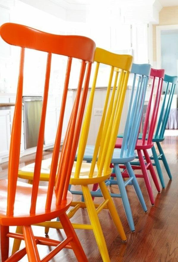 lackfarben für holz acryllack möbel stühle