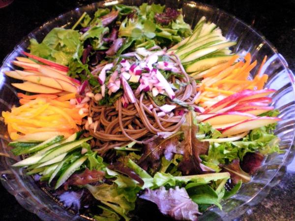 leichte gerichte gemüse obst salat
