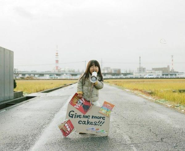 lustige kinderbilder kinderfotos Nagano Toyokazu tochter