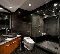 Luxus Badezimmer in Schwarz - der neue Trend | {Luxus duschkabine 74}