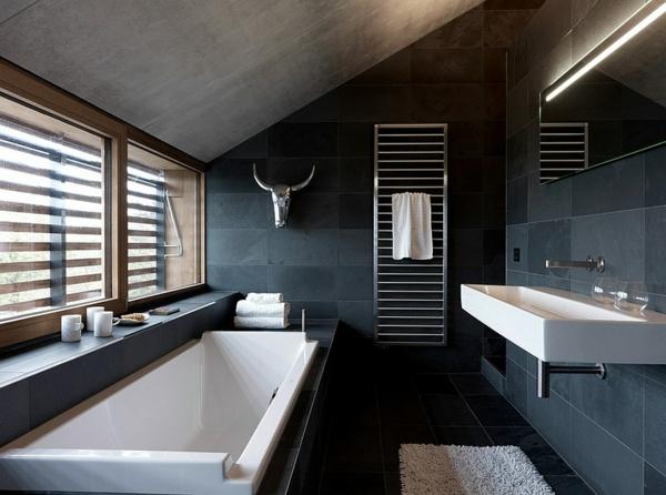 Badezimmer Anthrazit Holz U2013 Chillege, Modern Haus