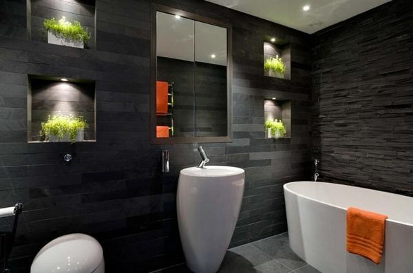 Luxus badezimmer weiß  Luxus Badezimmer Schwarz | gispatcher.com