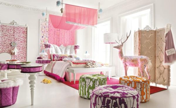 Mädchen Kinderzimmer - 33 zeitgenössische zauberhafte Innendesigns ...