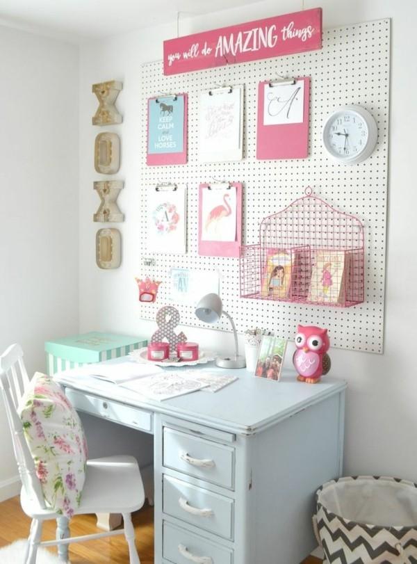 Kinderzimmer deko mädchen  Mädchen Kinderzimmer - 33 zeitgenössische zauberhafte Innendesigns ...