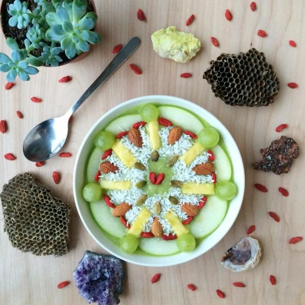 mandala vorlagen apfel trauben kokosraspeln