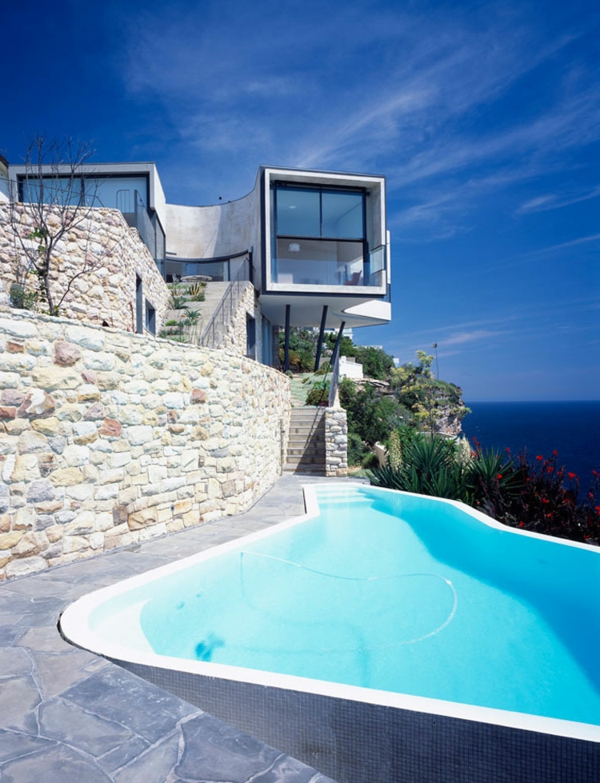 maritimes wohnen moderner luxus mit meeresblick. Black Bedroom Furniture Sets. Home Design Ideas