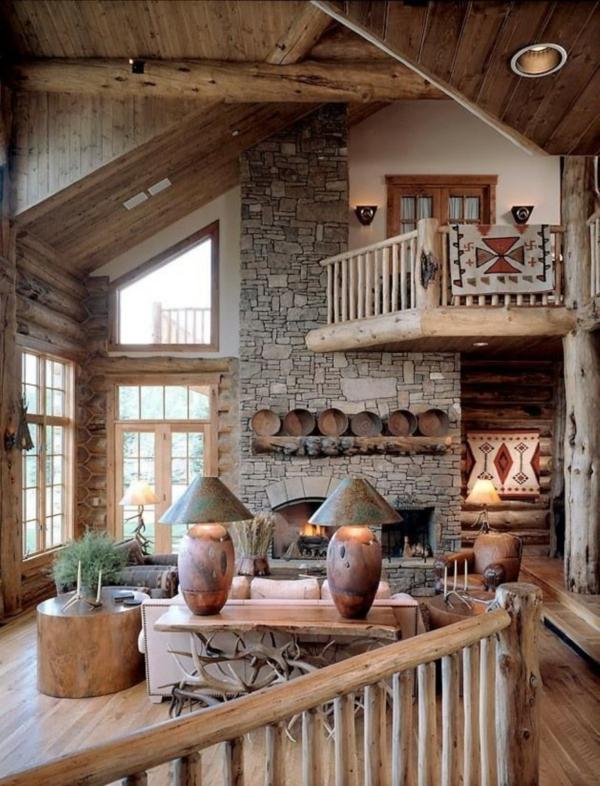 mauersteine naturstein wandgestaltung rustikal design
