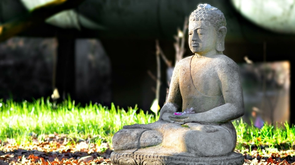 meditation lernen buddha statue