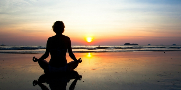 meditation lernen strand meer