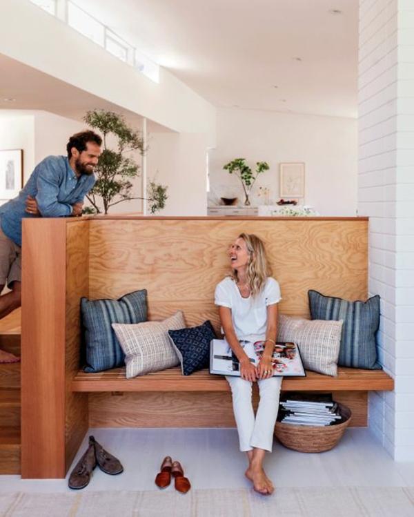 moderne hausfrau gemütliches zuhause privatsphäre