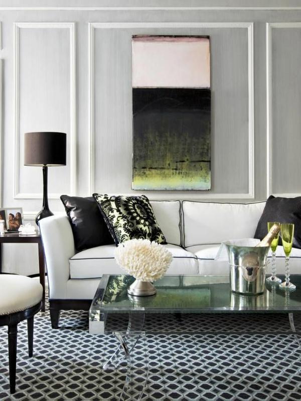 moderne kunst sofas teppich