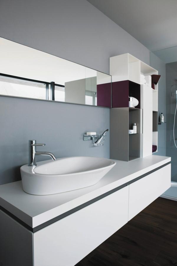 Moderne Waschbecken lassen das Badezimmer zeitgenössischer ...