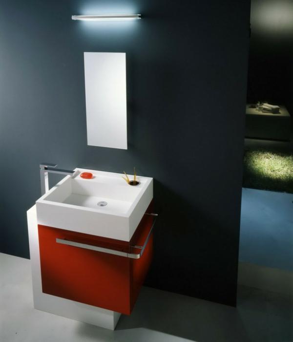moderne waschbecken quadratisches waschbecken weiß
