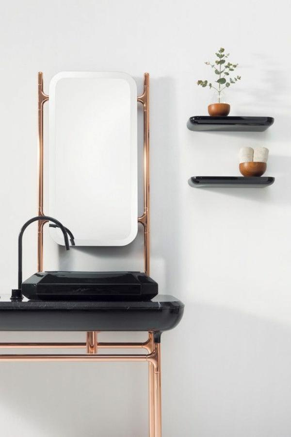 Moderne Waschbecken Lassen Das Badezimmer Zeitgenössischer Ausehen Modernes Badezimmer Designer Badspiegel