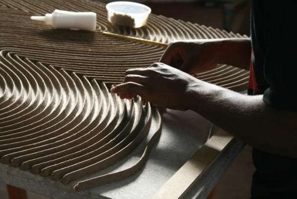 nachhaltiges design aus papier bearbeiten neu gestalten