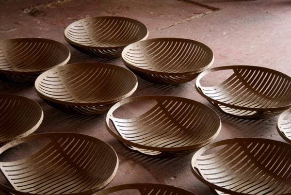 umweltfreundliches design aus papier schalen domingos totora