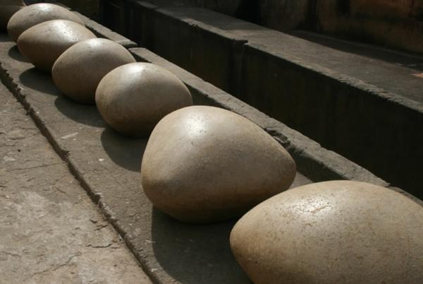 umweltfreundliches design aus papier steine