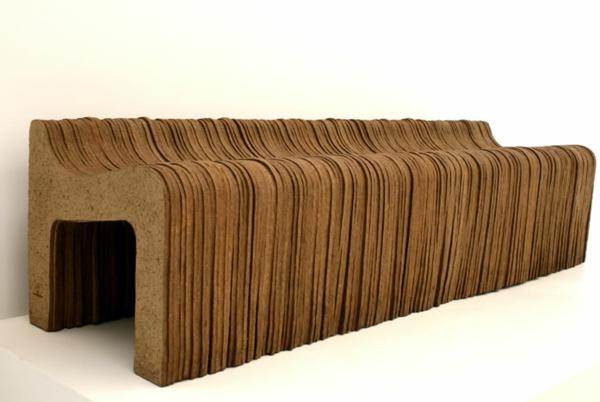 umweltfreundliches design domingos totora papier stühle