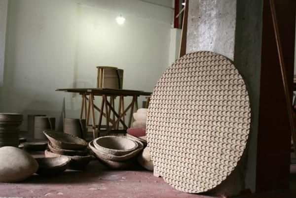 umweltfreundliches design domingos totora wohnzimmertische