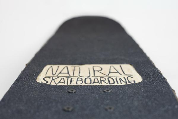 nachhaltiges design naturholz natural skateboarding projekt naturholz