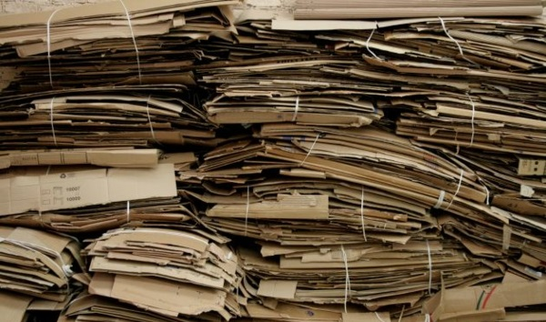 nachhaltiges design papier rezyklieren möbeldesign