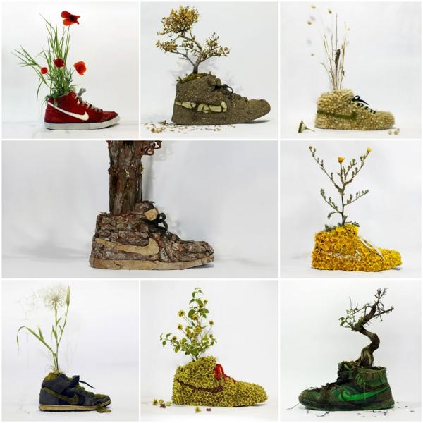 nike sneakers aus pflanzen wood projekt christophe guinet