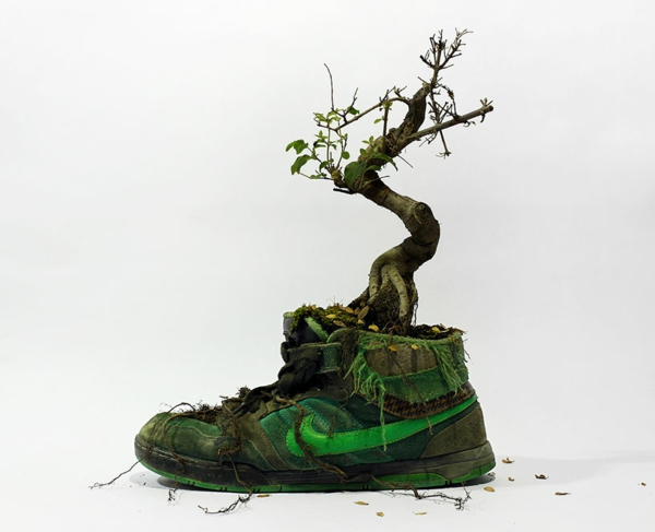 nike sneakers christophe guinet wood projekt nachhaltig leben
