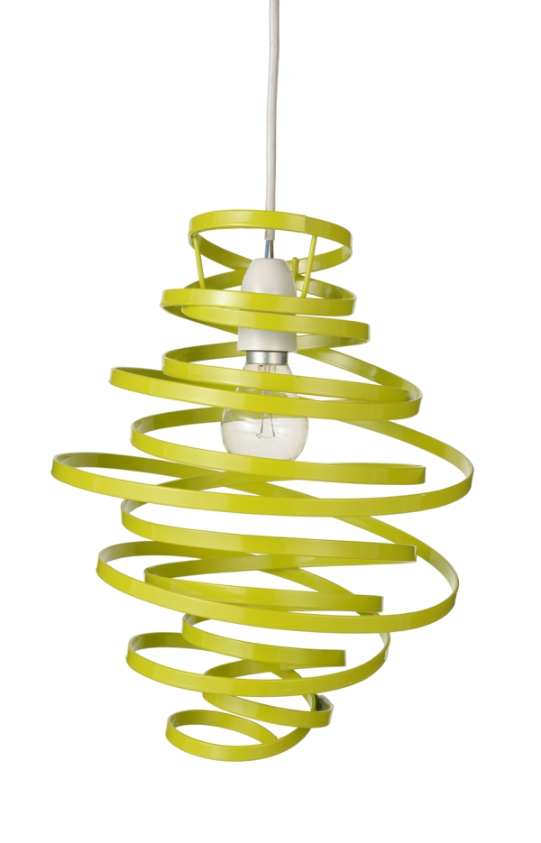 hängeleuchte beeindruckendes design gelb