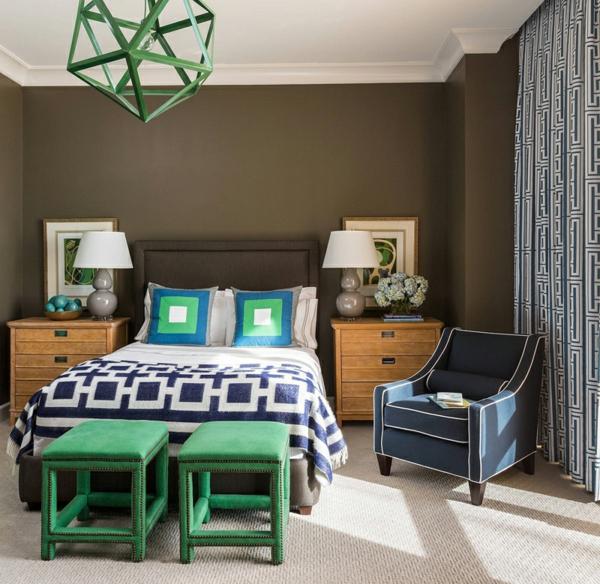modernes penthaus wohnung modern blau hell penthousewohnung schlafzimmer
