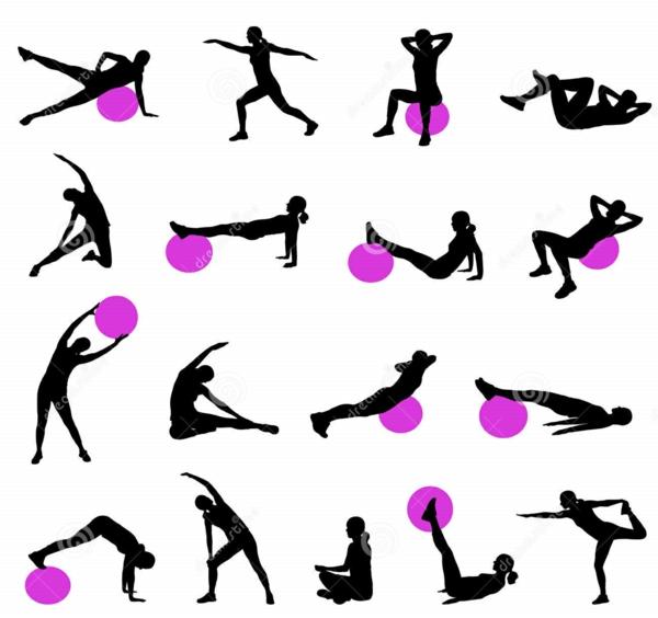 pilates Kalorien verbrauch beim Sport übungen im übersicht