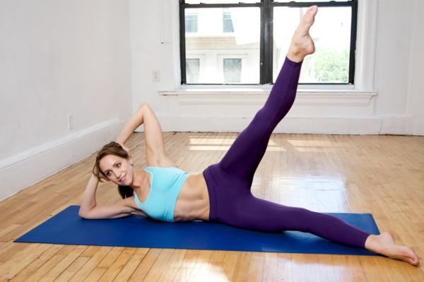 pilates Kalorien verbrauch beim Sport übungen