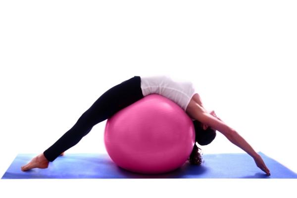 pilates Kalorien verbrauch beim Sport mit ball