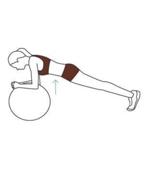 plank illo gymnastikball übungen
