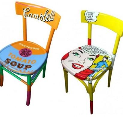 Einrichtung Stil Pop Art - Wohndesign -