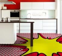 Pop Art Merkmale im Innendesign – Einrichtungsideen im 60er Jahre Stil