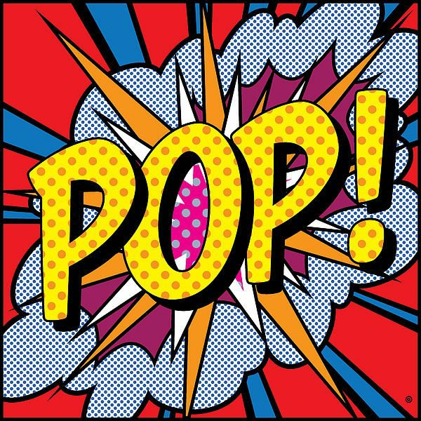 Free Coloring Pages Of Pop Art Words