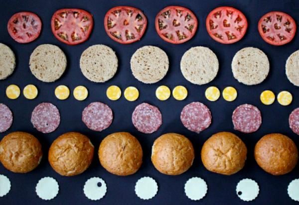 sandwich dots belegte brötchen bilder Brittany Powell Tae Kitakata