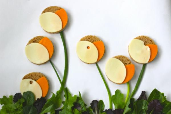 sandwich flower garden belegte brötchen bilder Brittany Powell Tae Kitakata