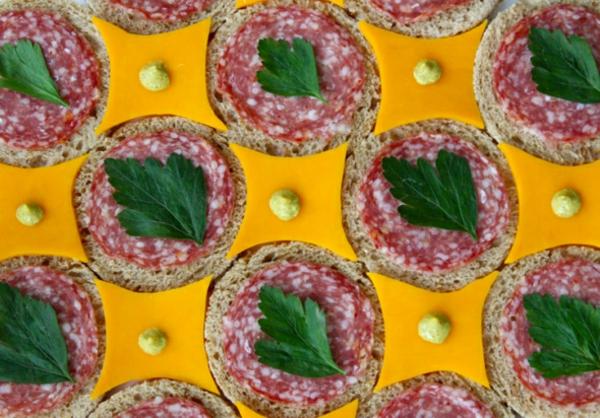 sandwich tiles detail belegte brötchen bilder Brittany Powell Tae Kitakata