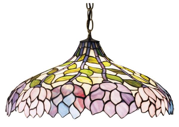 schöne hängelampe farbiger lampenschirm schöne wohnideen